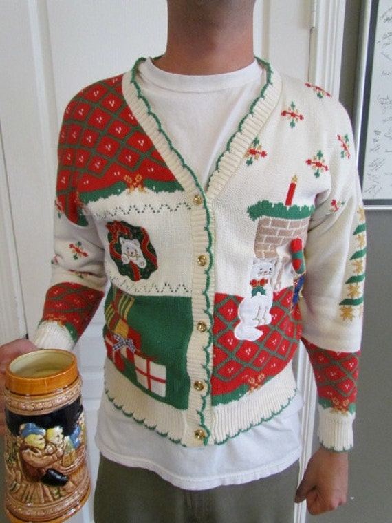 Ugly Chirstmas Sweater - Size large