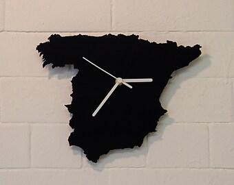 Spain clock (Black)