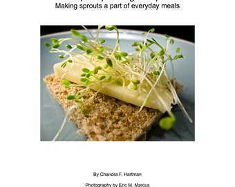 EBook, Simple Sprouting Recipes, Clean Eating