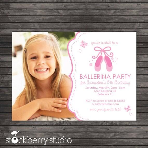 Ballerina birthday invitation printable ballerina party pink il570xn filmwisefo