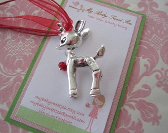christmas necklace - girls necklace