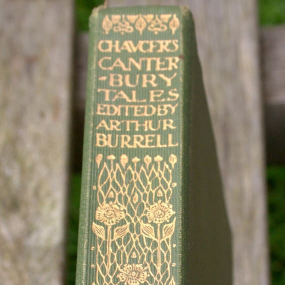 Chaucers Canterbury Tales- 1909 edition