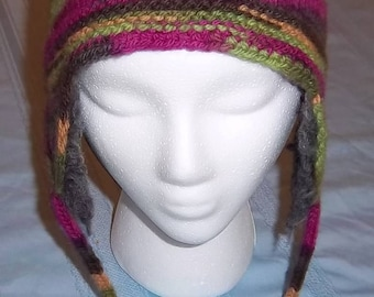 PDF Download Knit Pattern for the Thrum-Fun Hat  (with included lesson in thrumming)