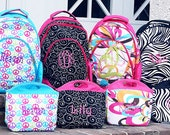Personalized Backpacks -2 day ship -NEW line -6 great Designs -