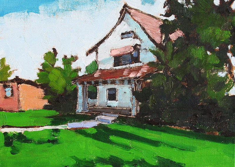 San Diego Painting- Craftsman House