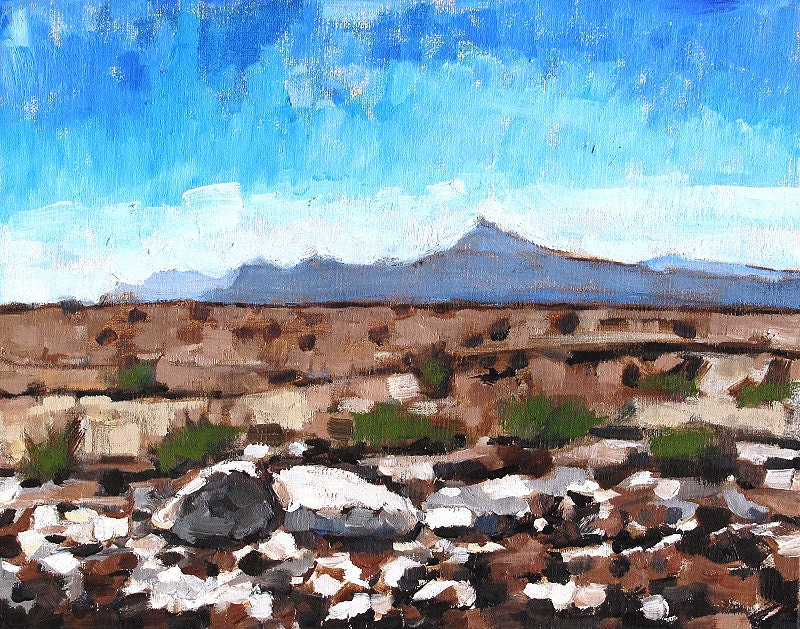 Nevada Desert Painting