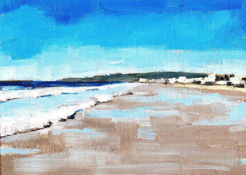 Ocean Beach Painting- San Diego