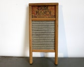Antique Dubl Handi Washboard