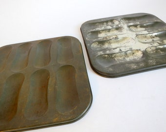 Antique Ladyfinger Dessert Molds