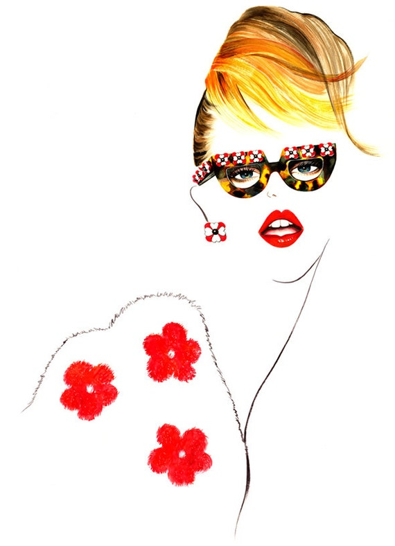 Fashion Illustration - MISS PRADA