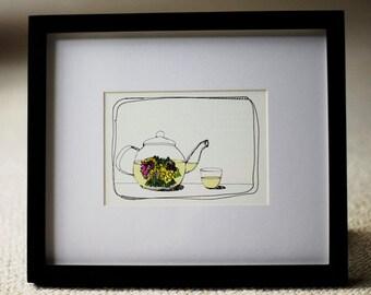 Flowering Tea- 5x7 Print