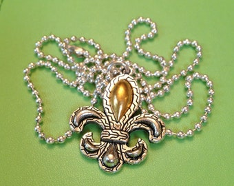 Bridal Fleur de Lys Necklace