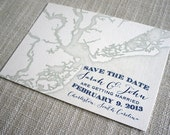Charleston Map Save the Date