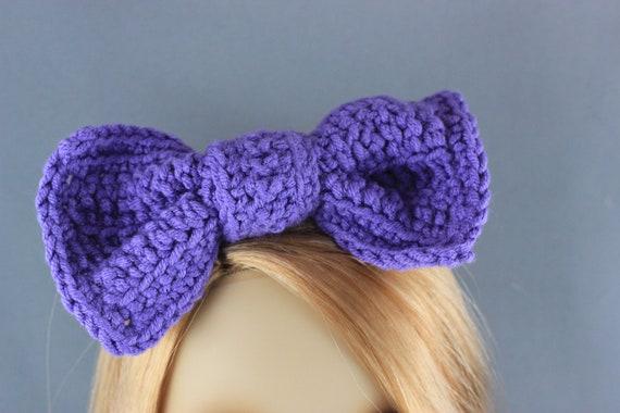 Blythe Giant Purple Hair Bow