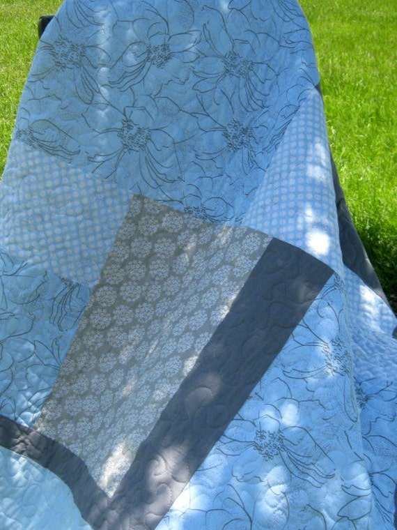 Blue - Modern/Contemporary Quilt