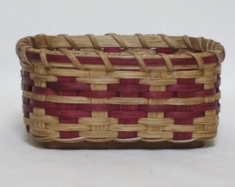 Napkin Basket-Handwoven Basket-Square Basket