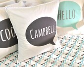 Custom Name Cushion, cover only