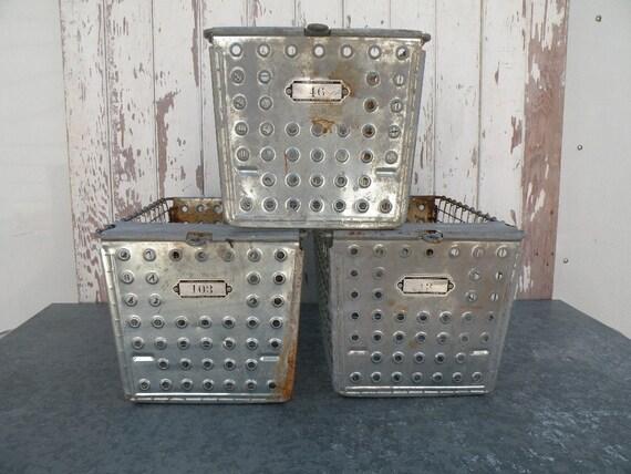 RESERVED for Cheryl 3 locker baskets