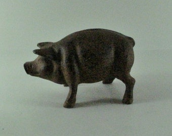 Small Metal Piggy Bank