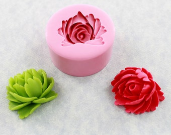 Flower Mold Mould Resin Polymer Clay Chocolate Fondant Wax Soap (324)