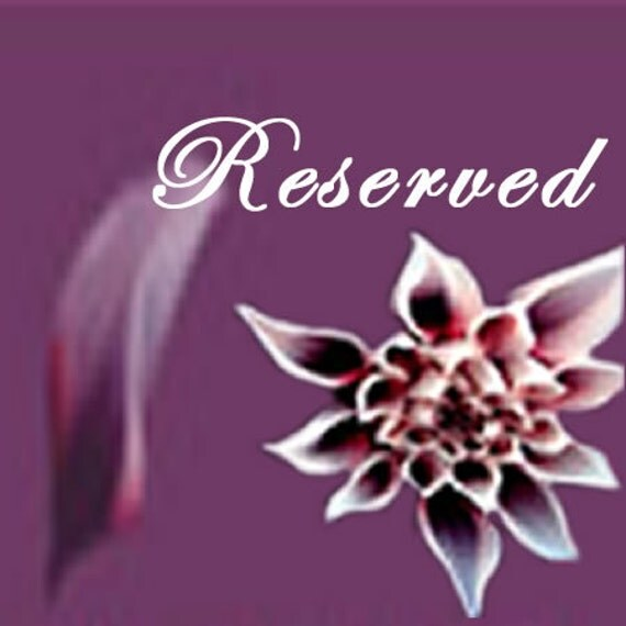 Reserved for Neelam
