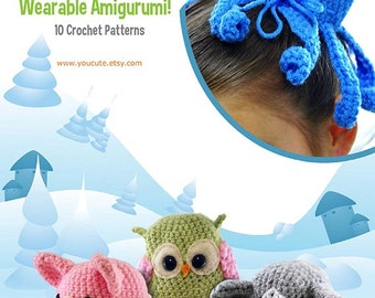 CROCHET PATTERN- Amigurumi Hair Bun Cover Pattern eBook