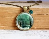 Winternight  - Vintage Necklace