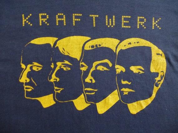 Original KRAFTWERK 1981 tour T SHIRT