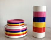 Vintage Heller Stacking Dinnerware by Massimo Vignelli