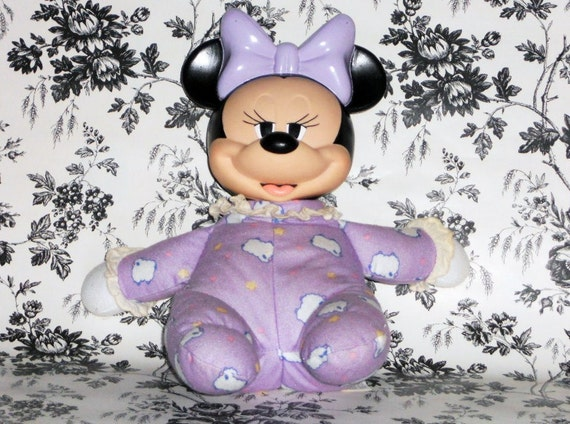 Items Similar To Minnie Mouse Doll Plush Light Up Mattel