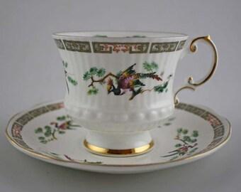 Vintage Elizabethan Bone China Cup and Saucer