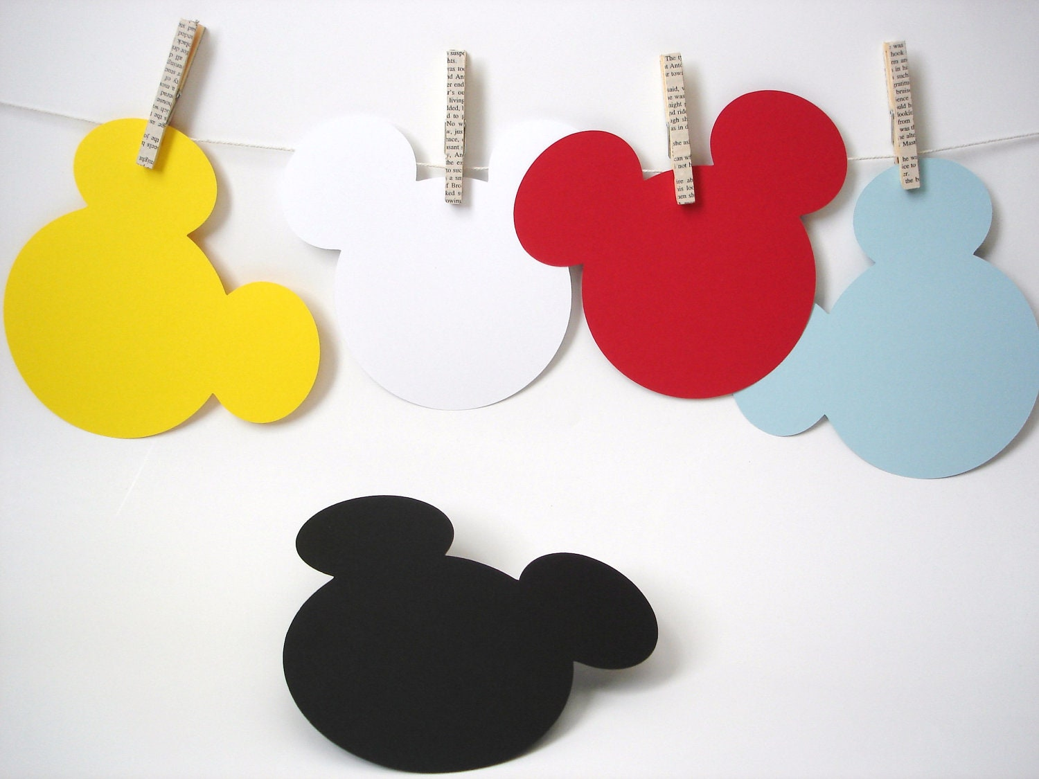 Popular items for mickey mouse die cut on Etsy