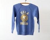 Vintage UCLA Sweatshirt / UCLA Bruins / Small