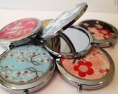 Compact Mirrors for the BRIDAL PARTY.  Custom made to order
