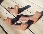 Vintage Childrens Cast Iron Cobblers Shoe lasts.
