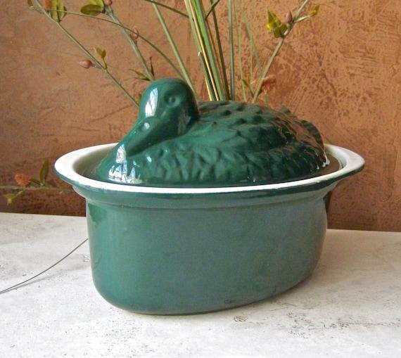 Duck Tureen Enameled Cast Iron Mold