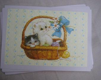 Kitty Cat Postcards