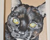 """Custom Pet Portrait, 4x5"""" (Cat)"""