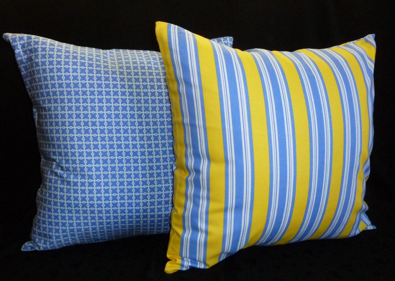 Ocean Blue Decorative Pillows : Decorative Pillows Throw Pillow Covers Ocean Blue and
