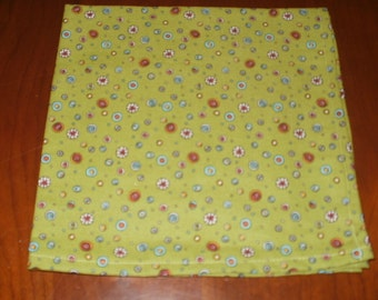 Sale...8 Dinner Napkins...17 inches...Stitched Hems Not Serged...FREE SHIPPING