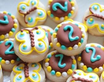 5 dozen Mini Butterfly Cookie NIbbles