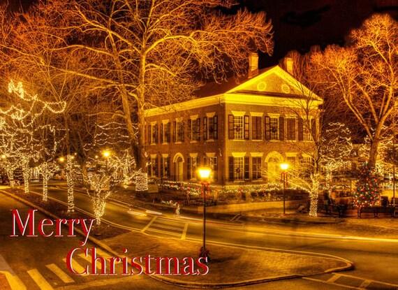 Items Similar To Dahlonega Georgia Christmas Cards