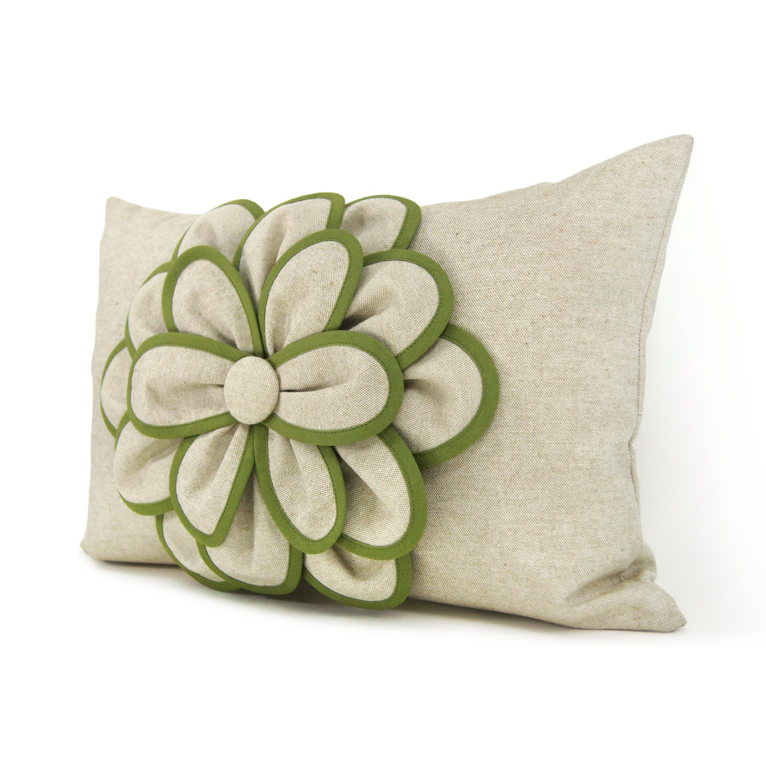 Decorative Pillow Cover 12x18 Shabby Chic Pillow French