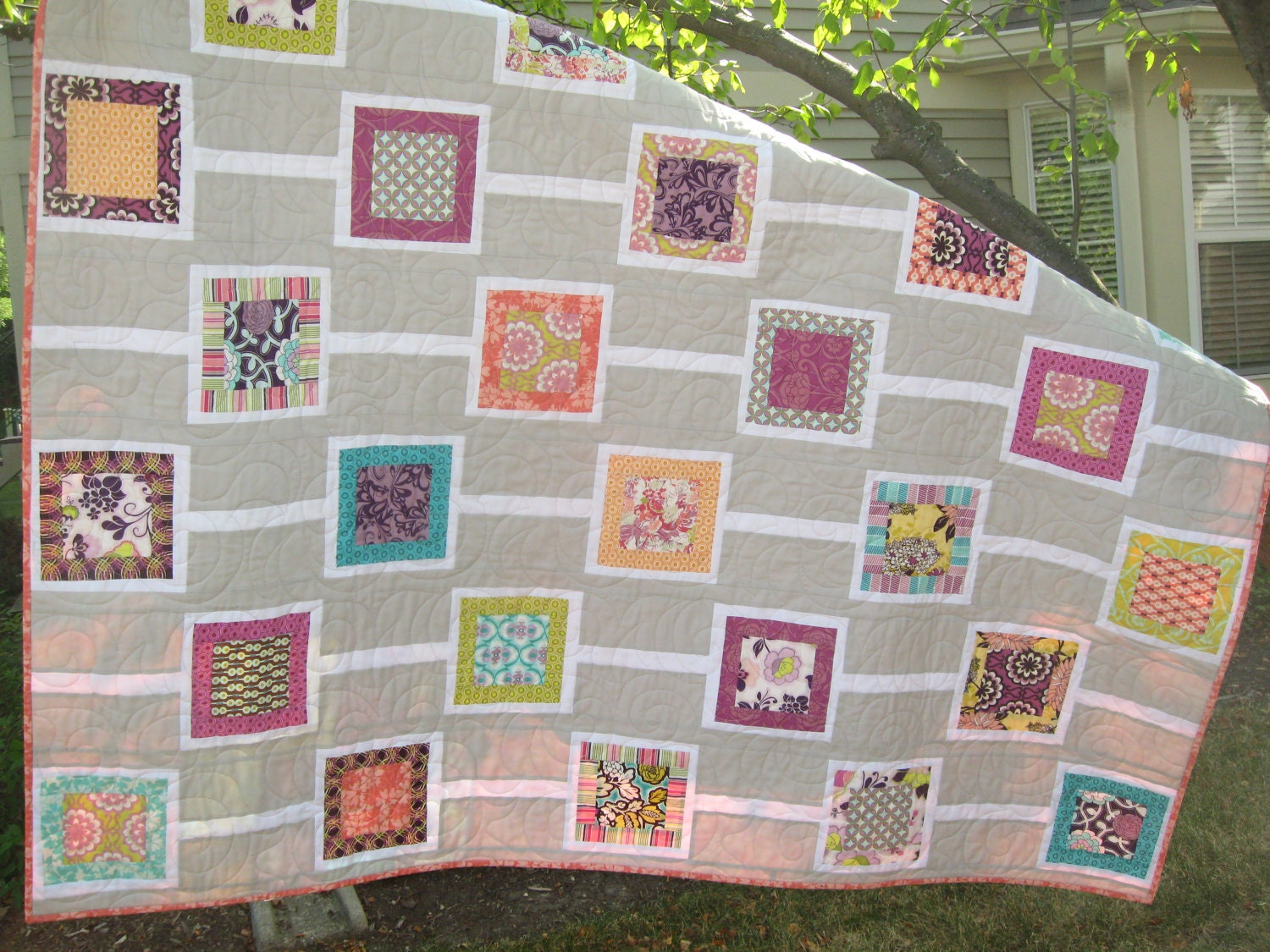 Chain Reaction Modern Quilt Kit Pattern Included Last Kit