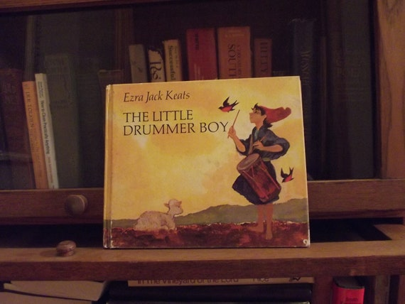 The Little Drummer Boy Ezra Jack Keats Hardcover 1968 edition