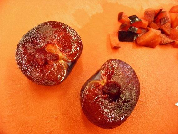 Summer of Love Plum Jam, 8 oz. Organic Plums & Rose Water