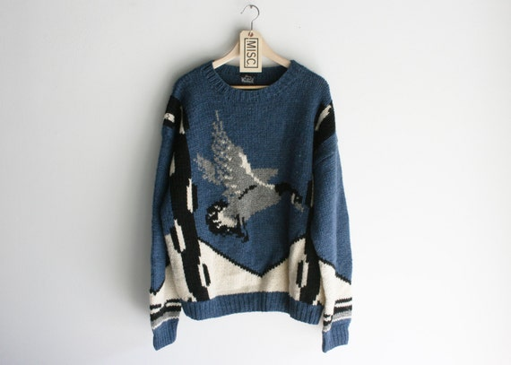 Vintage Woolrich Oversized Canada Goose Sweater