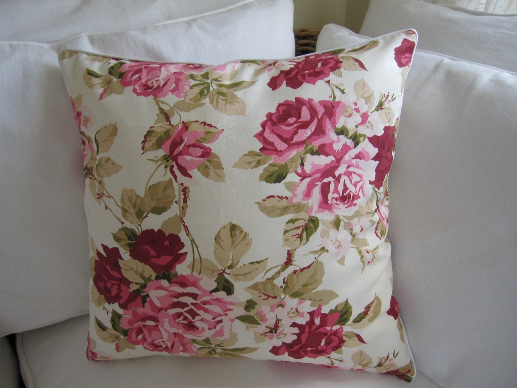 Shabby Chic Decorative Pillows : Shabby chic home-Country style 2 pcs decorative throw pillow