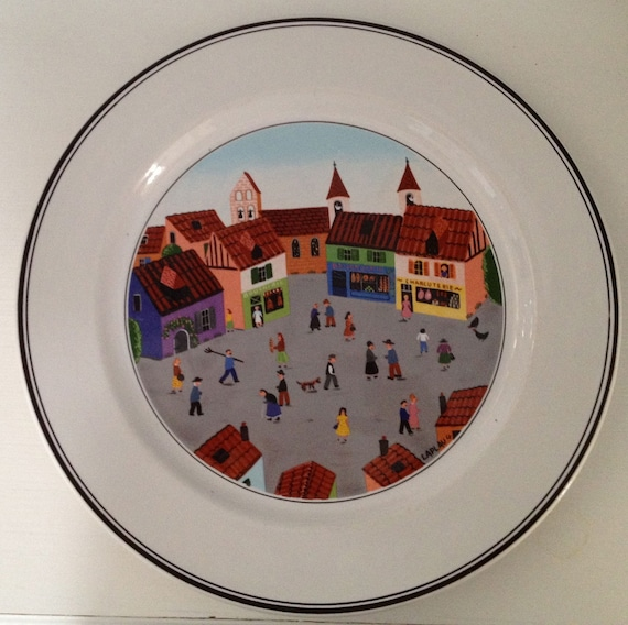 Villeroy boch design naif dinner plates scenes 4 and 5 for Villeroy boch naif