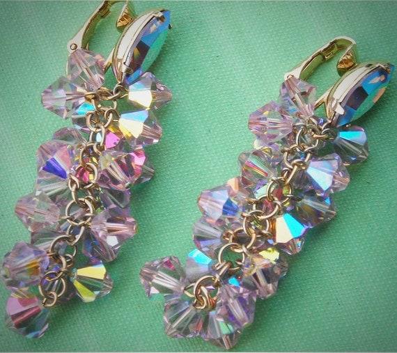 Reserved- Do Not Buy- 1960s Vintage Runway Earrings-Unsigned Lewis Segal